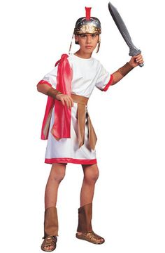 Roman Gladiator Costume Child.