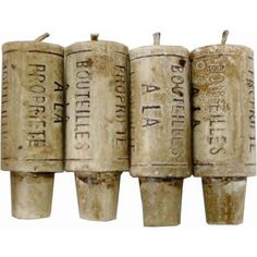 Wine Cork Candles - Gift Set of 4 (Fits any Wine Bottle) - Perfect Novelty Gift Item Paperproducts Design http://smile.amazon.com/dp/B002CBLO78/ref=cm_sw_r_pi_dp_seMzub165T0CE