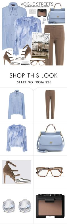 """Mondays / Filles A Papa Shaved Faux Fur Coat"" by palmtreesandpompoms ❤ liked on Polyvore featuring Baku, Rochas, Etro, Filles à papa, Dolce&Gabbana, Gucci, Fallon, NARS Cosmetics, farfetch and fillesapapa"