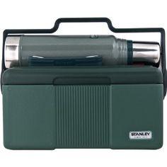 Stanley Heritage Cooler 7QT + Classic Vaccuum Bottle 1.1QT Combo - Lunch boxes for men Stanley Cooler, Stanley Thermos, Lunch Boxes For Men, Cool Lunch Boxes, Lunch Box Cooler, Picnic Cooler, Stanley Vacuum, Camping