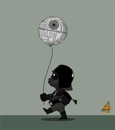 Darth Vader and death star balloon... TooGEEK