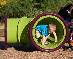Kids ages 2 to 5 will explore and hang out in the Wee Crawl™ Tunnel.