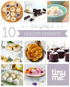10 Delightful Healthy Desserts ~ Tinyme