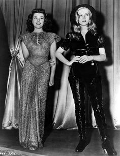 Paulette Goddard & Veronica Lake - STAR SPANGLED RHYTHM