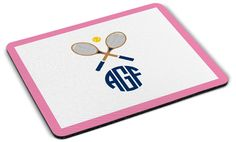 Crossed Racquets Mousepad
