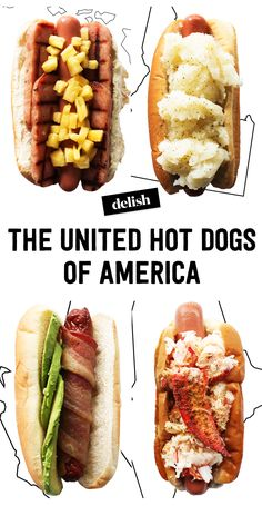 50 States of Hot Dog Toppings