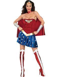 Sexy Wonder Woman Superheld Vrouw Kostuum