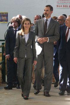 Queen Letizia of Spain Photos - International Cattle Fair in Zafra - Zimbio