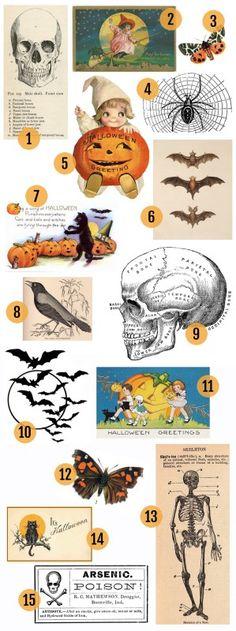 12 Free Halloween Printables Free halloween printables, Printables - print halloween decorations