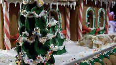 la valigia sul letto: Gingerbread house
