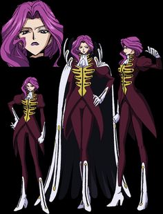 While Cornelia has past familial ties to Lelouch (the protagonist), she is a continual sore point for him.