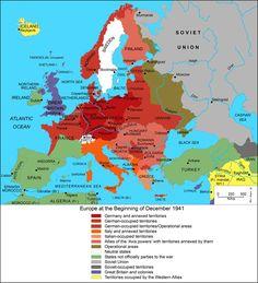 Europe at the Beginning of December 1941