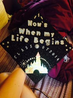 Disney graduation cap!