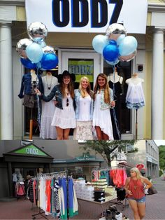 Oddz is trendy bohemian clothing and accessory store located in downtown Westport.  They have cute and comfy clothing for all occasions for girls and women.  Make sure to go during the annual sidewalk sales!