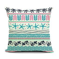 """Dreamcolor 18x18"""" Cotton Linen Bohemia Series Decorative Throw Pillow Cover ABZ046-6 Dreamcolor http://www.amazon.com/dp/B00ZR5EY5A/ref=cm_sw_r_pi_dp_Od3Nvb0KYZBEY"""