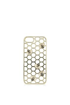 Love this honeycomb design! iPhone 5 Case by Skinnydip at Top Shop.