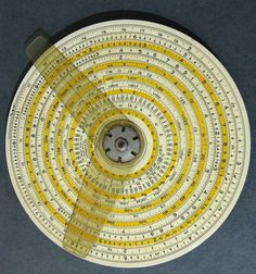 circular slide rule Slide Rule, Nuclear War, Career Coach, Pc Computer, Constellations, Maths, Transformers, Physics, Gears