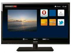 """Smart TV LED 19"""" Semp Toshiba LE1945I - 1 HDMI 1 USB"""
