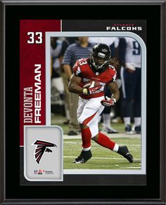 Devonta Freeman Atlanta Falcons x Sublimated Player Plaque - Fanatics  Authentic Certified. Category   NFL Player Plaques and Collages. fa72a190e