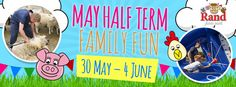 Visit Rand Farm Park this May half term for lots of family fun. Kicking off the start of the holidays is everyone's favourite tractor, Little Grey Fergie!