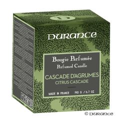 Bougie Naturelle Parfumée Cascade d'Agrumes