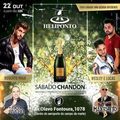 Sábado Chandon no Heliponto Number One Coloque seu nome na lista pelo link: http://www.baladassp.com.br/balada-sp-evento/Heliponto-Bar/558 Whats: 951674133