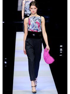 Milan Fashion Week Fall 2015 - Giorgio Armani
