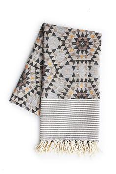 Blanket - 'Heavenly Honeycomb' Grijs