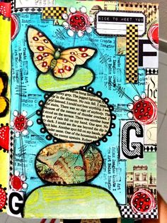 Collage style by Tracy Scott