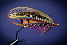Black Doctor salmon fly from T.E. Pryce-Tannatt's book.  FlyTyingArchive.com  fly tying blog. #flytying #flyfishing