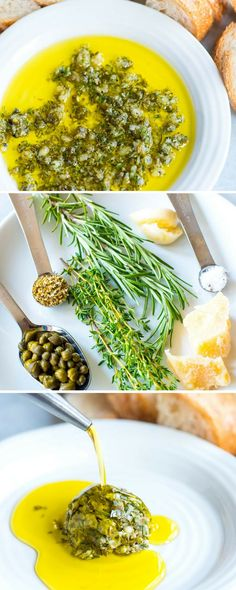 Ridiculously Good Olive Oil Dip Easy Olive Oil Dip – This easy and group-friendly olive oil dip comes together quickly and it never fails. I mean, who doesnt want to dip bread into an herby, garlicky, parmesan cheese infused olive oil? Dip Recipes, Healthy Dinner Recipes, Cooking Recipes, Recipies, Pretzel Recipes, Healthy Dips, Delicious Recipes, Easy Recipes, Best Appetizers