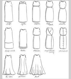 Types of dresses