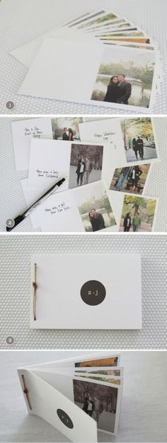 10 Mini albums to give to your partner on their next anniversary - 10 Mini álbumes para regalarle a tu pareja en su próximo aniversario A gift that will make you fall in love. Bf Gifts, Love Gifts, Gifts For Girls, Girl Gifts, Diy Christmas Gifts, Valentine Gifts, Christmas Wedding, Christmas Recipes, Mini Albums