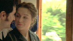 ... the train ride home ... *sigh* - Daniela Denby-Ashe (Margaret Hale) & Richard Armitage (Mr. John Thornton) - North & South (TV, Mini-Series, 2004) #elizabethgaskell