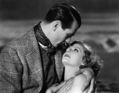 """Tallulah Bankhead with Gary Cooper in """"Devil and the Deep"""" (1932)"""