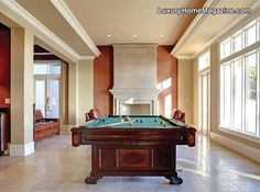 LHM Seattle - Shorebrook Manor #LuxuryHomes #Luxury #PoolTable