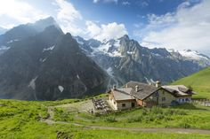 Stay at Rifugio Bonatti, one of the best kept huts in the Alps, home to sweeping views