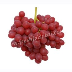 Grapes Red Globe - लाल अंगूर -  The Red Globe Grape is a variety of very large, seeded red grapes with firm flesh used mainly as a table grape.