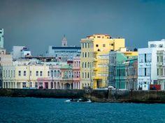 Modernized Building on Havana's Malecon