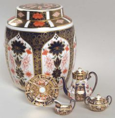 Imari Patterns by Royal Crown Derby
