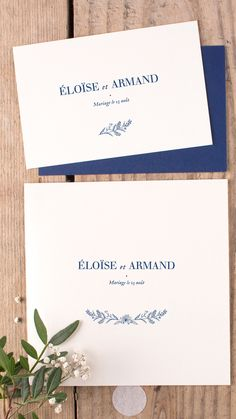 """Our """"Natural Chic"""" wedding invitations are an emblem of refined elegance and the cornerstone of our collection of classic wedding invitations. Square Wedding Invitations, Classic Wedding Invitations, Wedding Stationery, King Jr, Orange Blossom, Wedding Designs, Wedding Ideas, Marie, Place Card Holders"""