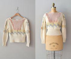 suéter pastel / suéter de punto de la mano / del suéter de seda Tenue