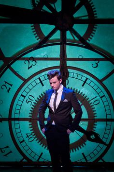 Because there has to be a huge clock on set if your filming a wicked number