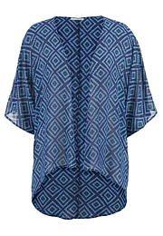 chiffon kimono in di