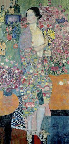 Gustav Klimt Die Tänzerin,