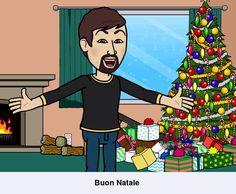 Buon Natale #Buon_Natale #amici #friends #bitstrips #avatar #io #milan #city #città #milano #colors #instagram #instamoment #kiss