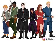 """nemoart: """" Six of Crows characters. I miss them so MUCH! """""""