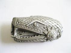 Snake Head Belt Buckle Goth #GreatAmericanProducts #Novelty
