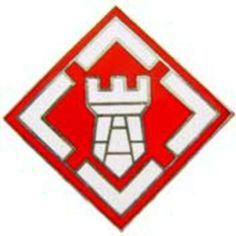 "U.S. Army 20th Engineer Brigade Pin 1 3/8"" by FindingKing. $9.50. This is a new U.S. Army 20th Engineer Brigade Pin 1 3/8"""