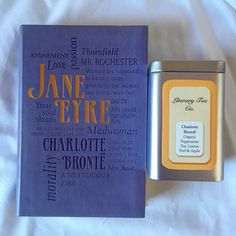 The perfect afternoon ☕️ tea + book = happy place #janeeyre #charlottebronte